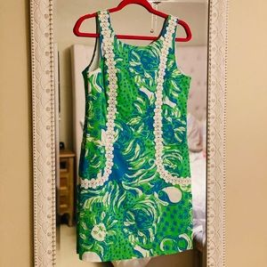 Lilly Pulitzer Mod Lion shift dress with pockets